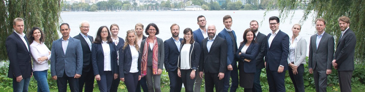 Office team of the SeaRenergy Offshore Holding GmbH & Cie. KG