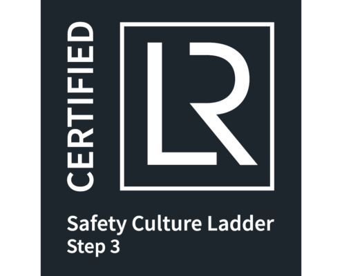Safety Culture Ladder Logo black with white font